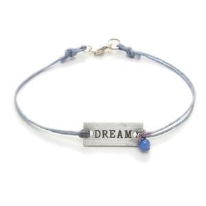 Dogeared(ドギャード)プレートブレス(m-DREAM-it.blue quartz) - 拡大画像