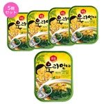 【韓国食品・おかず缶詰】センピョお母さんの味「エゴマの葉キムチさっぱり味」5個セット