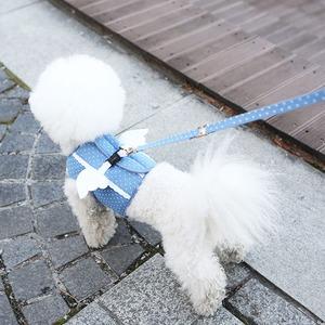 Its Dog(イッツドッグ) マイエンジェルベストハーネス/ドット【XL】 - 拡大画像
