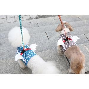 Its Dog(イッツドッグ) マイエンジェルベストハーネス・スイミングダック/ブルー【XL】 - 拡大画像