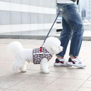 Its Dog(イッツドッグ) マイエンジェルベストハーネス・スイミングダック/ブラウン【XL】 - 拡大画像