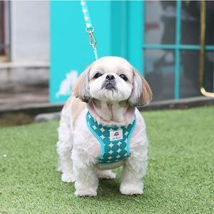 Its Dog(イッツドッグ) バブルキャンディーハーネス/グリーン【M】 - 拡大画像