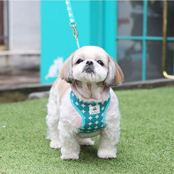 Its Dog(イッツドッグ) バブルキャンディーハーネス/グリーン【M】