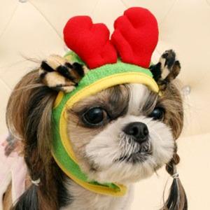 Its Dog(イッツドッグ) コスプレ帽子/ルドルフ【S】 - 拡大画像