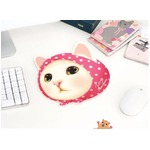 JETOY(ジェトイ) 顔型マウスパッド/ピンクずきん