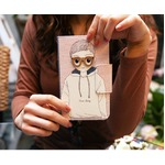 MrH(ミスターエイチ)スマホウォレットケース/ボーイ&ガール(ボーイ)Byiphone8plus