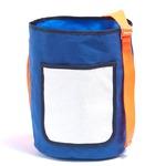 アウトドアにも旅行にもエコバッグとしても使える筒形バッグ/ネイビー