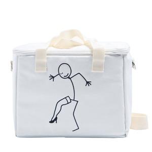 アウトドアにもエコバッグとしても使えるハンドバッグS/ヒールアイボリー - 拡大画像