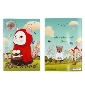 JETOY(ジェトイ) Choochoo ミニノート (赤ずきん)2冊セット - 拡大画像