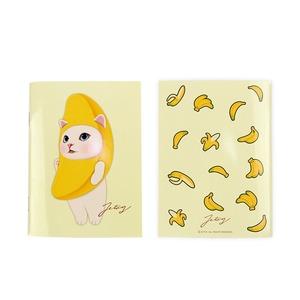 JETOY(ジェトイ) Choochoo ミニノート (バナナ)2冊セット - 拡大画像