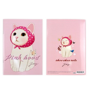 JETOY(ジェトイ) Choochoo ノート2 (ピンクずきん)2冊セット - 拡大画像