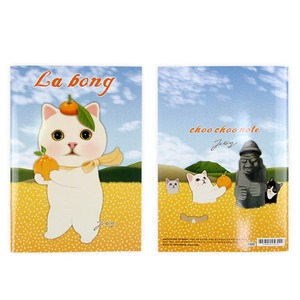 JETOY(ジェトイ) Choochoo ノート2 (ミカン)2冊セット - 拡大画像