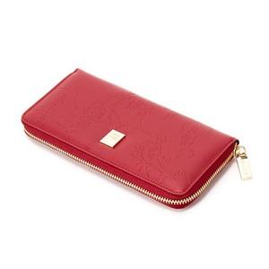 PRIMA CLASSE(プリマクラッセ) PSW7-2123 ラウンドジップ長財布 (レッド)