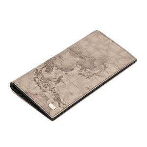 PRIMA CLASSE(プリマクラッセ) P-3001-3 長財布型パスケース(お札入れ)グレイ