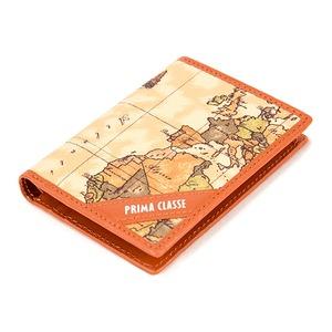 PRIMA CLASSE(プリマクラッセ) P-3004-2 ユニセックス二つ折りカードケース (ブラウン)