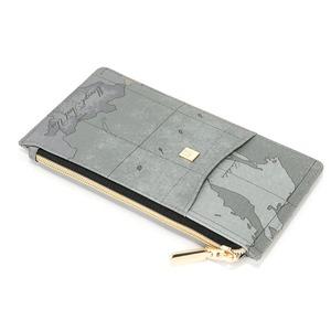 PRIMA CLASSE(プリマクラッセ)PSW8-2137 パスポートが入るサイズ薄型ファスナー長財布 (オーシャン) - 拡大画像