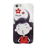 MrH(ミスターエイチ)スマホスキニーケース シビーガールレッド(iPhone8plus)