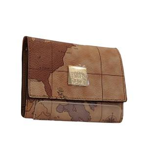 PRIMA CLASSE(プリマクラッセ) PSW5-1113 三つ折り式カード財布(ブラウン) - 拡大画像