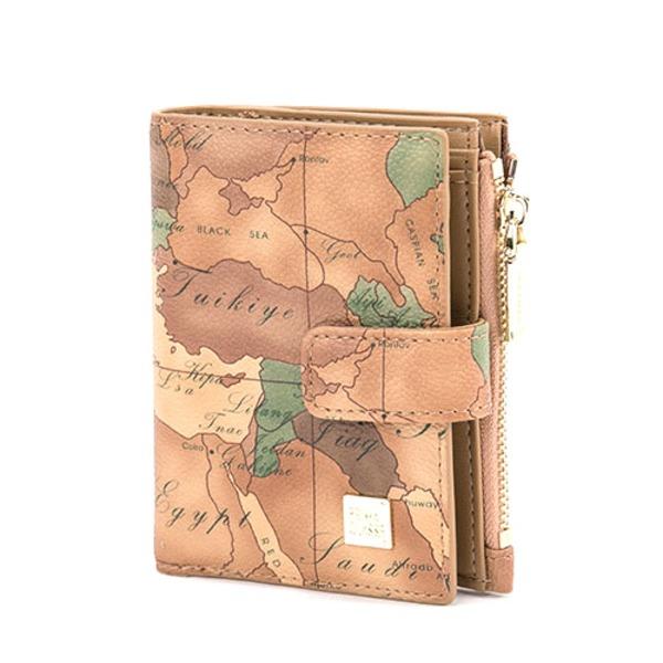 PRIMA CLASSE(プリマクラッセ)19W-4111 コンパクトな収納二つ折り財布/ブラウン