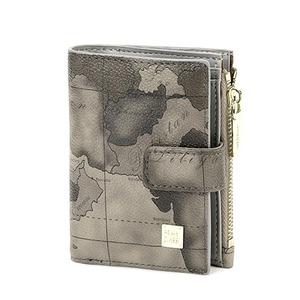 PRIMA CLASSE(プリマクラッセ)19W-4111 コンパクトな収納二つ折り財布/グレイ - 拡大画像