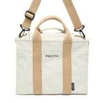 AGATHA(アガタ)AGT202-522 ショルダーストラップ付キャンバストートバッグ