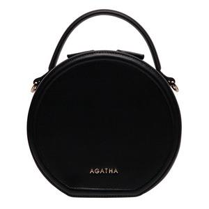 AGATHA(アガタ)AGT201-122 シグネチャータンバリン丸形ショルダーバッグ/ブラック - 拡大画像