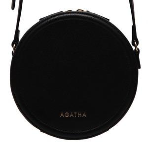 AGATHA(アガタ)AGT201-123 ミニタンバリンクロスバッグ/ブラック - 拡大画像