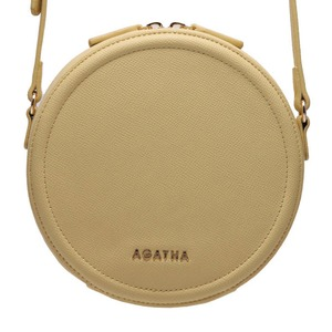 AGATHA(アガタ)AGT201-123 ミニタンバリンクロスバッグ/イエロー - 拡大画像