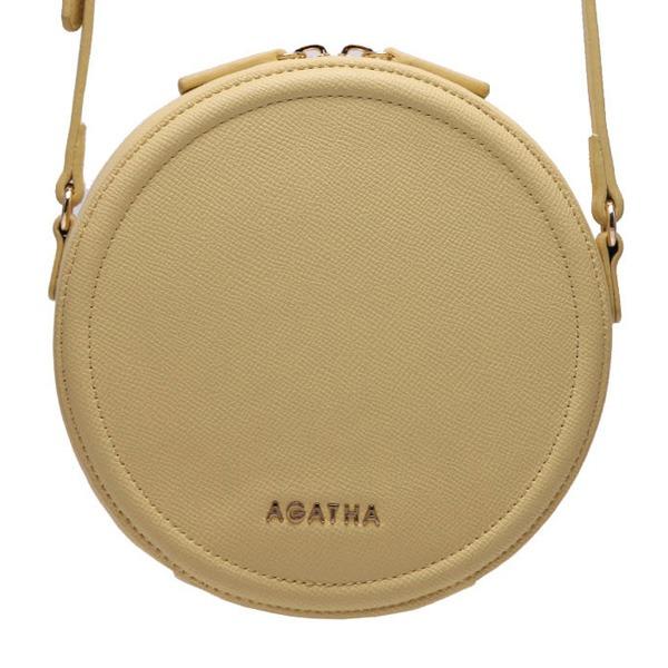 AGATHA(アガタ)AGT201-123 ミニタンバリンクロスバッグ/イエロー