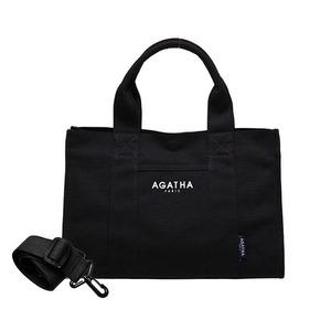 AGATHA(アガタ)AGT192-509 スクエアタンブラーエコトートバッグ/ブラックAタイプ - 拡大画像