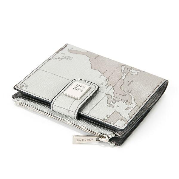 PRIMA CLASSE(プリマクラッセ)PSW8-2133 収納出来る二つ折り財布/ミントグレイ