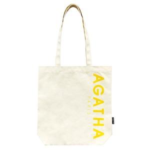 AGATHA(アガタ)AGTH002 ロゴ入りエコトートバッグB/イエロー - 拡大画像