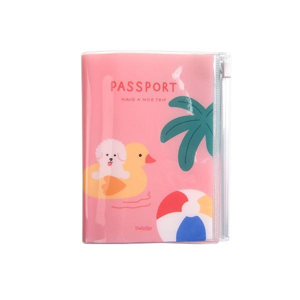 Dailylike(デイリーライク)ポケットパスポートケース/アロハビション