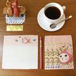 JETOY(ジェトイ)Choochoo blingbling letter(レターセット)同柄2セット/ピンクずきん