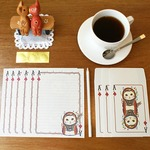 JETOY(ジェトイ)Choochoo blingbling letter(レターセット)同柄2セット/トランプカード