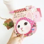 JETOY(ジェトイ)ChooChoo Dollyスプリングメモノート/ピンクずきん