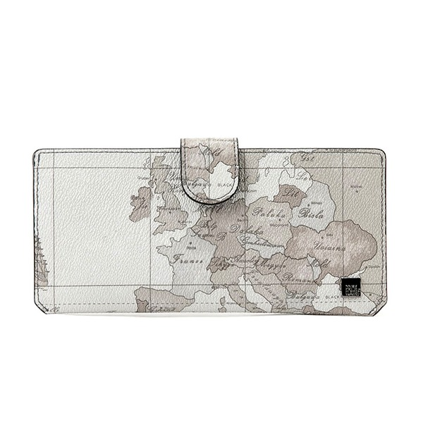 PRIMA CLASSE(プリマクラッセ)19W-2126 ボタン式薄型長財布/ミントグレイ