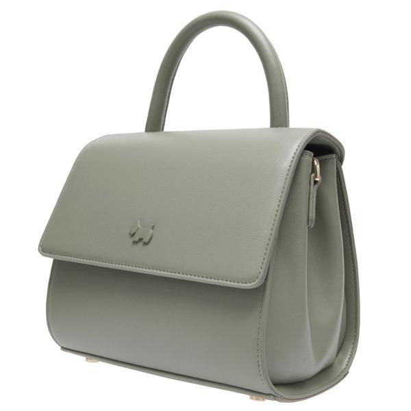 AGATHA(アガタ)AGT201-127 フォーマルにも使えるシンプルハンドバッグ/グリーン