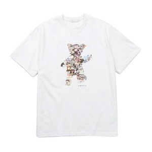 VASTIC TeddyBearCollage Tシャツ/ホワイト M - 拡大画像