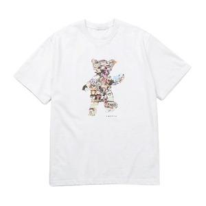 VASTIC TeddyBearCollage Tシャツ/ホワイト L - 拡大画像
