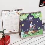 7321Design(7321デザイン) 2021年書き込めるザ・デイリーストーリー卓上カレンダー(2020年12月〜)