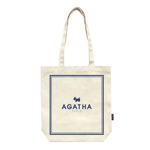 AGATHA(アガタ)フレームエコバッグ/ネイビー - 拡大画像