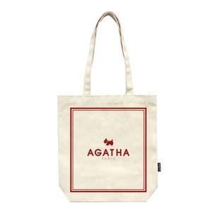 AGATHA(アガタ)フレームエコバッグ/レッド - 拡大画像