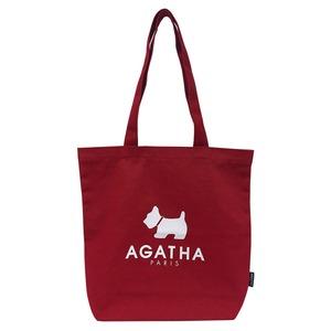 AGATHA(アガタ)AGT192-514 ベーシックカラーエコバッグ/レッド - 拡大画像