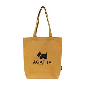 AGATHA(アガタ)AGT192-514 ベーシックカラーエコバッグ/イエロー - 拡大画像