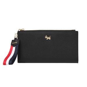 AGATHA(アガタ)AGT193-303 ストラップ付二つ折り長財布/ブラック - 拡大画像