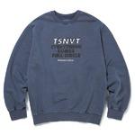 thisisneverthat(ディスイズネバーザット)TSNVTクルーネックトレーナーTNFSW012/ダークバイオレット XL