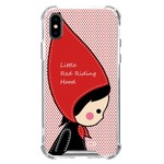 MrH(ミスターエイチ)スマホ スキンジェルケース/レッドライディングフード iphone8plus