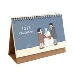 indigo(インディゴ) 2021年季節のイラスト卓上カレンダー