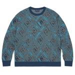 thisisneverthat(ディスイズネバーザット)TN20FKW003 アフリカンジャガードセーター/ネイビーS